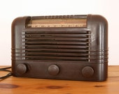 Vintage RCA Victor Tube Radio - 56X Ch RC-1011 1st Production Men for him - TheHeirloomShoppe