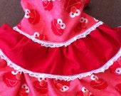 Custom Children's Tiered Halter Dress