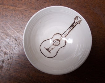 Little Guitar bowl
