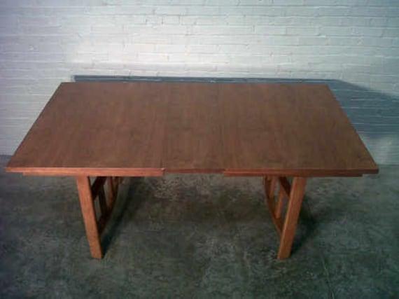 Mid-Century Danish Modern Dining Table  -  Nice Mad Men / Eames Era Decor