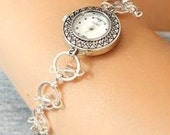 Silver Swarovski Crystal Watch