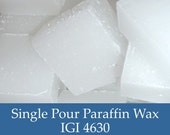 5 lbs. Paraffin Wax - IGI 4630 Harmony Blend - Performance Paraffin Container Wax for Candle Making