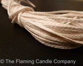 10 yds. Flat Braid Wick - 21 Ply - for Candle Making