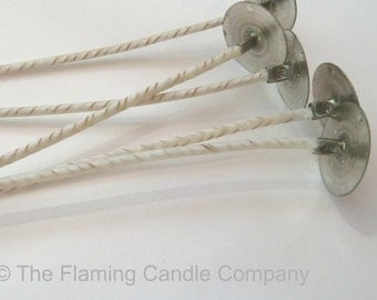 ECO Wicks (100) - Pre-tabbed Candle Wicks - Choose Your Size