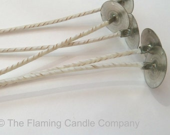 ECO Wicks (25) - Pre-tabbed Candle Wicks - Choose Your Size