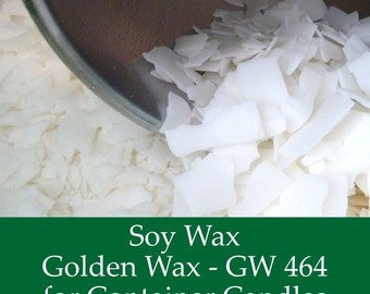10 lbs. Soy Wax Flakes - GW464 - All Natural Soy Wax Flakes for Candle Making