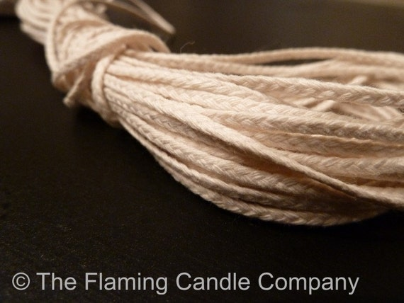 10 yds. Flat Braid Wick - 24 Ply - for Candle Making