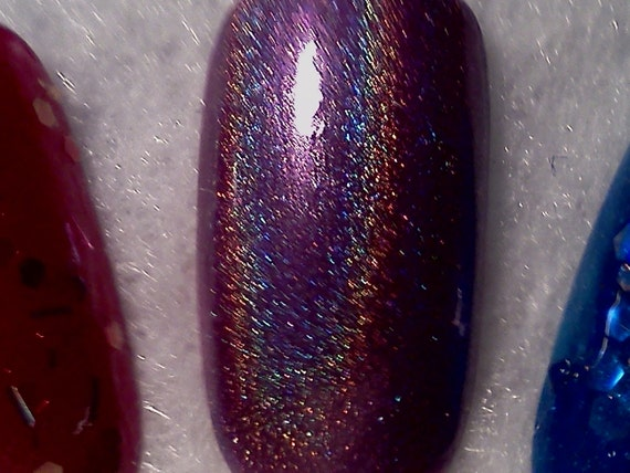 Purple Dreams (linear holographic) Nail Polish