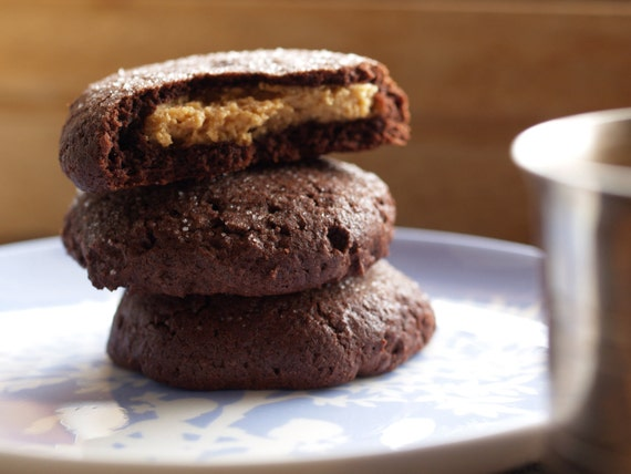 Cookie BOMBS, P.nut butter cookie surprises