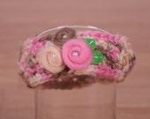 Crochet Newborn Headband Ear Warmer
