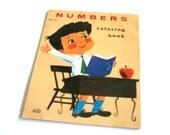 vintage coloring book numbers coloring booklet by LOWE unused