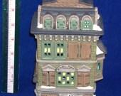 REDUCED Price - Department 56 Dickens Village Series - Flat of Ebenezer Scrooge - Vintage Heritage House