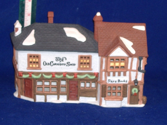 Department 56 Dickens Village Series - The Old Curiosity Shop - Vintage