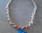 Sonic hemp necklace