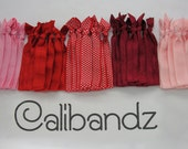 Love - 5 Calibandz - shimmer hair ties, twist emi bella foe
