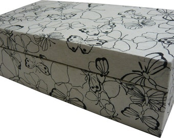 The Black and White Butterfly Box