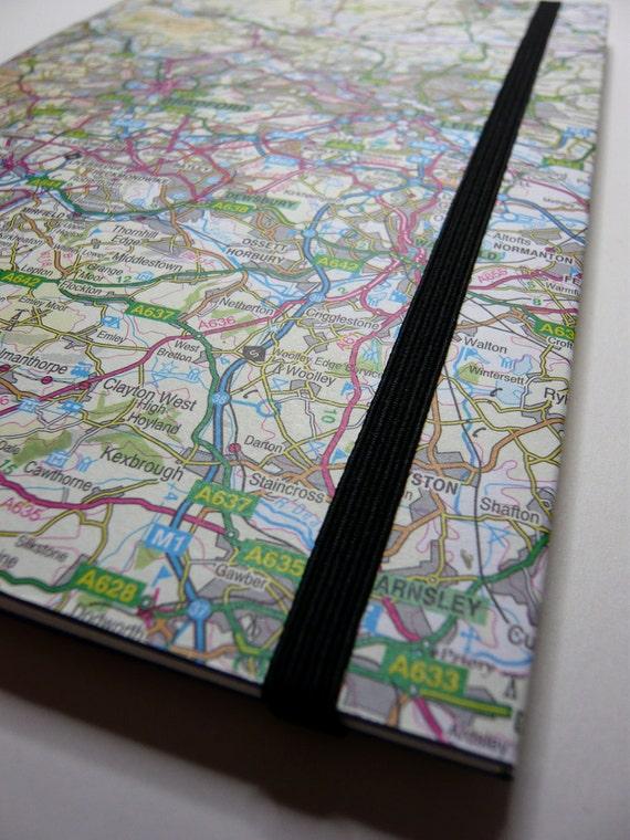 Road map sketch book