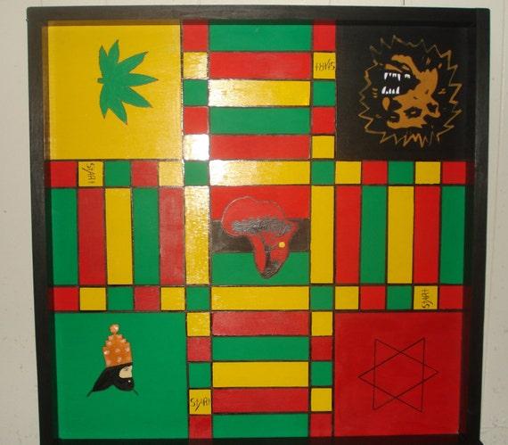 Jamaican Ludo Board