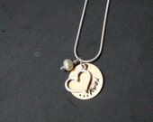 Loved Open Heart Necklace