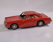 Red Ferrari 250 GT Toy Tin car, Made in Japan