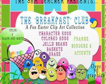 Fun Easter Egg Clip Art Collection