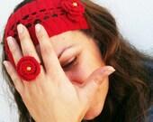 Hand crochet Sympathetic different sweet accessory Quad set