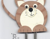 Stampin' Up Cat Punch Art Bookmark Kit