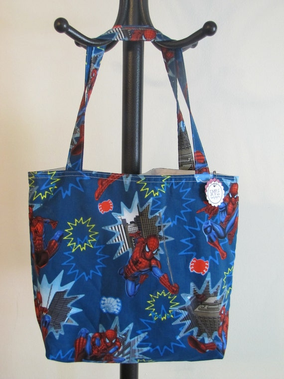 Spiderman Library Tote