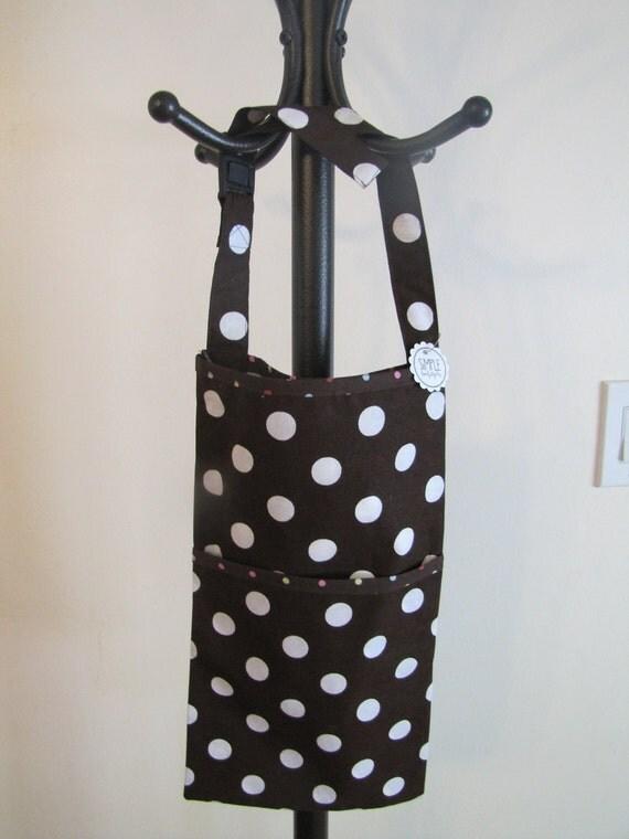 Polka Dot Car Trash Bag