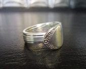 Handmade silverware spoon ring  9