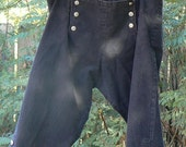 Renaissance Colonial Pirate Breeches LARP Jack Sparrow Historical Pants