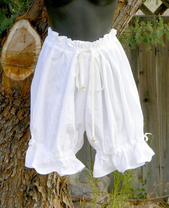 Short Cotton Bloomers Victorian Knickers Cosplay Shorts Costume
