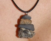 Rubicon River Rock Stack Necklace