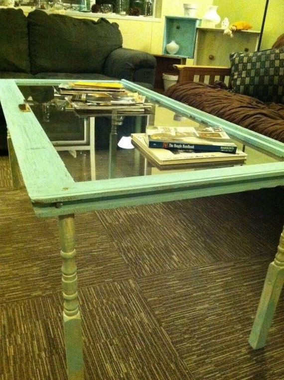 Repurposed Window Coffee Table