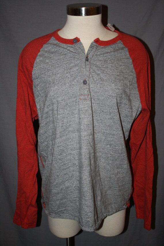 vintage gap baseball long sleeve henley t shirt men 39 s by