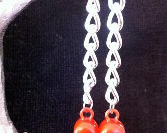 Skull Chain Earrings