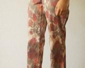 Watercolor Floral Pants