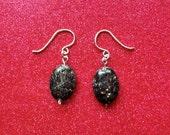 Shimmering Stone Earrings
