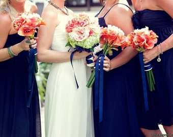 Custom Bridesmaid Bouquet Examples