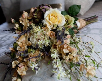 English Garden Custom Bridal Bouquet