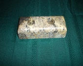 NATURAL, SOAPSTONE candle holder