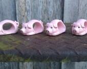 Piggie napkin rings