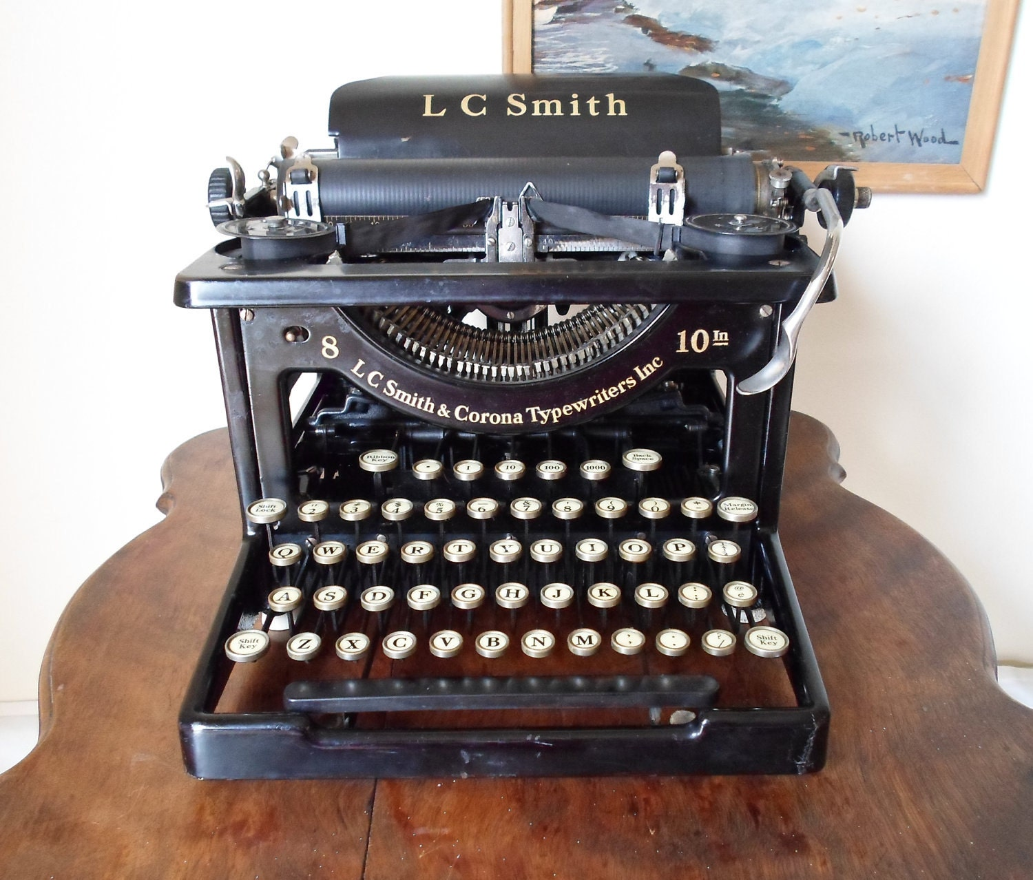 Antique L C Smith Amp Corona Typewriters Inc By