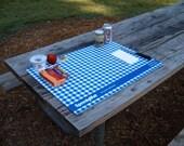 Picnic tablecloth, table cloth - plastic table mat