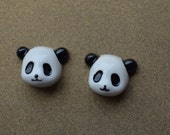 10pcs  Resin  Panda  Resin Bow Cabochons perfect for necklaces iphone case beautify