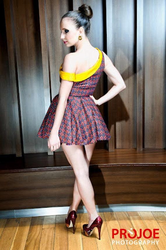 The Off-the-Shoulder dress (uk size 8 10 12)