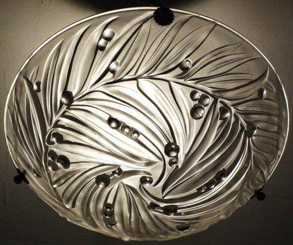 Art Deco Lamp from France (1930s) - Delicate Raindrop Light - Perfect for Every Room - 4 TREASURY LISTS