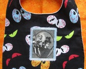 Beetlejuice Cartoon-Handmade Baby Bib