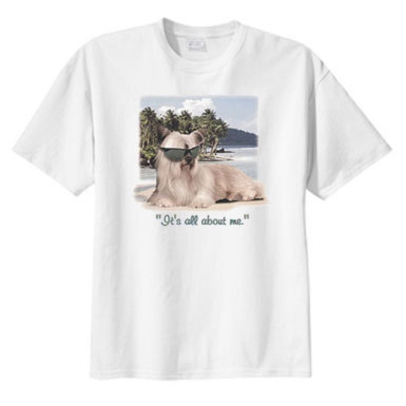 It's All About Me Diva Dog, S M L XL 2X 3X 4X 5X, Shih Tzu