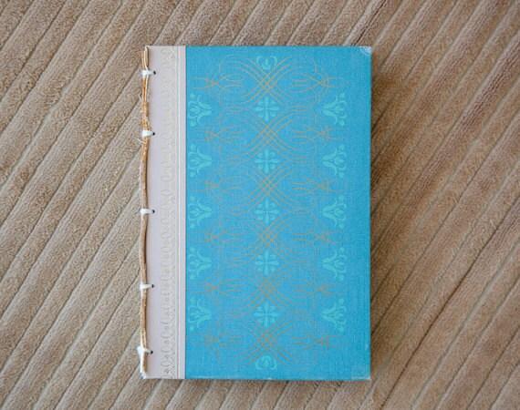 handmade journal // hard bound journal // vintage